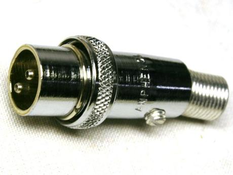 Heathkit mic connector 432-38